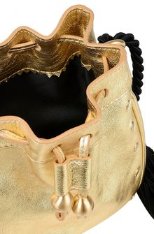 PHILOSOPHY di LORENZO SERAFINI Gold Melody bag BAG Woman a