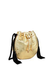 PHILOSOPHY di LORENZO SERAFINI Gold Melody bag BAG Woman d