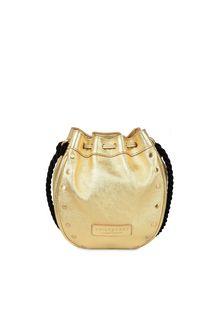 PHILOSOPHY di LORENZO SERAFINI Gold Melody bag BAG Woman e