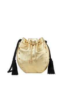 PHILOSOPHY di LORENZO SERAFINI Gold Melody bag BAG Woman f