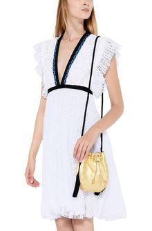 PHILOSOPHY di LORENZO SERAFINI Gold Melody bag BAG Woman r