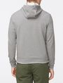 ARMANI EXCHANGE LOGO PLACKET ZIP-UP HOODIE Fleece Top Man r