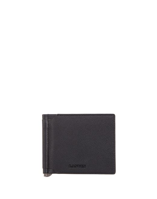 GRAINED CALFSKIN WALLET - Lanvin