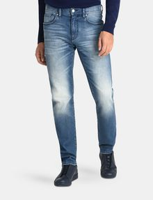 Cheap Armani Jeans Slim Fit Five Pocket Jeans Mens Grey Online Store