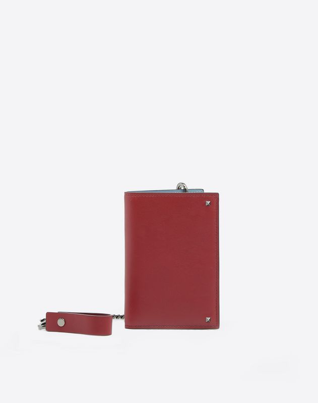 Rockstud Chain Wallet