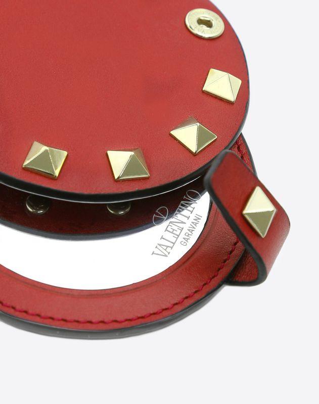 Rockstud Mirror Bag Charm