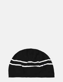 ARMANI EXCHANGE STRIPE ACCENT KNIT BERET Hat Woman r