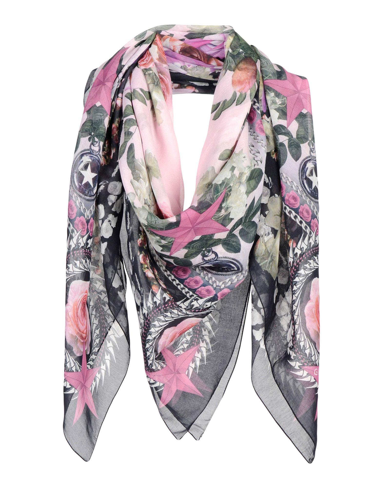 GIVENCHY Палантин шарф givenchy серый