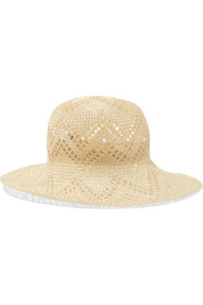 IRIS AND INK Straw panama hat
