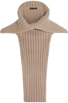 AGNONA Ribbed cashmere collar