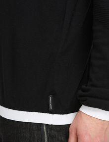 ARMANI EXCHANGE COTTON CASHMERE QUARTER-ZIP SWEATER Pullover Man e