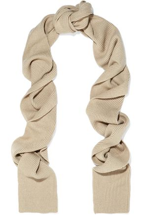 TOTÊME Genava ribbed-knit scarf