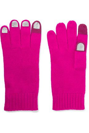 MARC BY MARC JACOBS Wild Thing foiled merino wool gloves