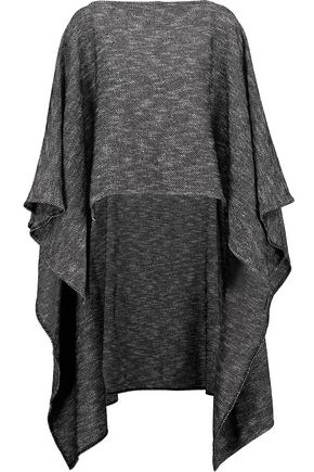RAG & BONE Lana asymmetric draped bouclé-knit poncho
