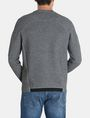ARMANI EXCHANGE EMBOSSED LOGO SWEATSHIRT Fleece Top Man r
