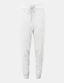 ARMANI EXCHANGE LOGO WAIST SWEATPANT Fleece-Hose Damen b