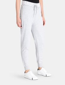ARMANI EXCHANGE LOGO WAIST SWEATPANT Fleece-Hose Damen d