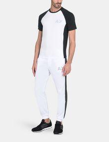 ARMANI EXCHANGE SIDE-STRIPE TRICOT JOGGER Fleece Pant Man a