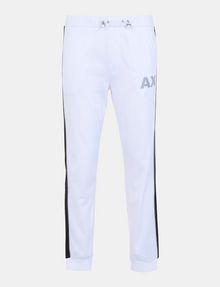 ARMANI EXCHANGE SIDE-STRIPE TRICOT JOGGER Fleece Pant Man b