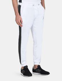 ARMANI EXCHANGE SIDE-STRIPE TRICOT JOGGER Fleece Pant Man d