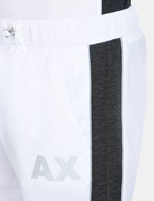 ARMANI EXCHANGE SIDE-STRIPE TRICOT JOGGER Fleece Pant Man e