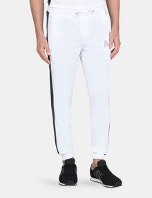 ARMANI EXCHANGE SIDE-STRIPE TRICOT JOGGER Fleece Pant Man f