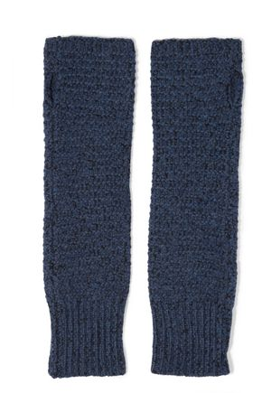 DUFFY Knitted fingerless gloves