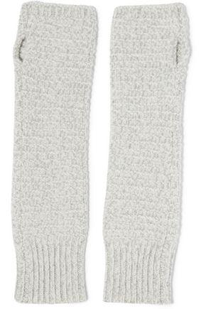DUFFY Knitted fingerless gloves