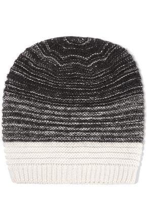 DUFFY Ribbed degradé merino wool-blend beanie