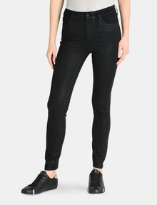 Armani Exchange CROPPED COATED SUPER SKINNY JEANS , Skinny ... d6f3bd31947