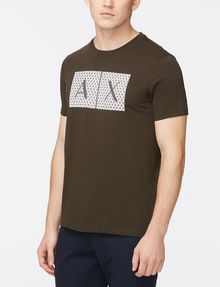 ARMANI EXCHANGE TRIANGLE LOGO T-SHIRT Logo T-shirt Man d