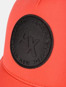 ARMANI EXCHANGE CIRCLE LOGO PATCH HAT Hat Man d