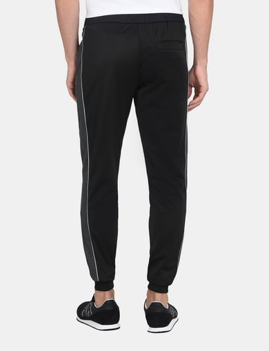SIDE-STRIPE TRICOT JOGGER