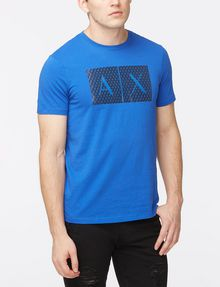 ARMANI EXCHANGE TRIANGLE LOGO T-SHIRT Logo T-shirt Man f