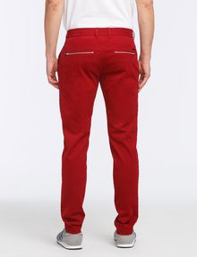 ARMANI EXCHANGE SLIM FIT ZIPPER DETAIL PANTS Chino Man r