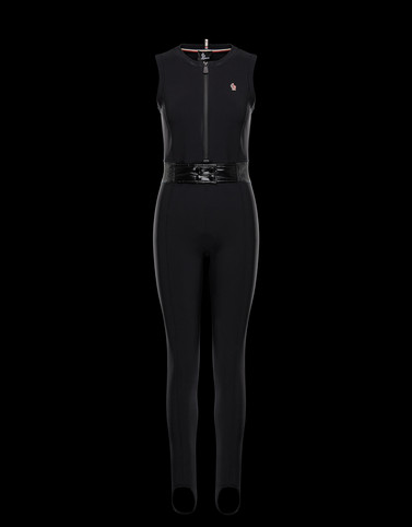 SKI SUIT Black Grenoble Ski Suits