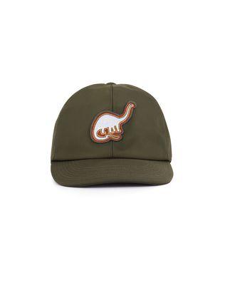 LANVIN TECHNICAL CANVAS CAP WITH PATCH Hat U r