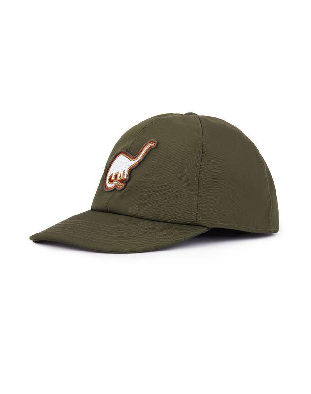 LANVIN TECHNICAL CANVAS CAP WITH PATCH Hat U d