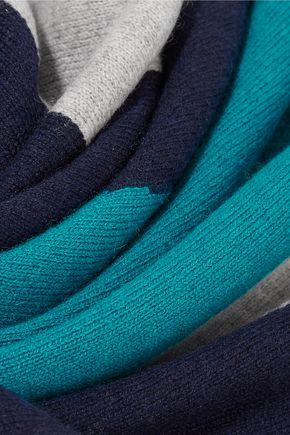MAGASCHONI Color-block cashmere scarf