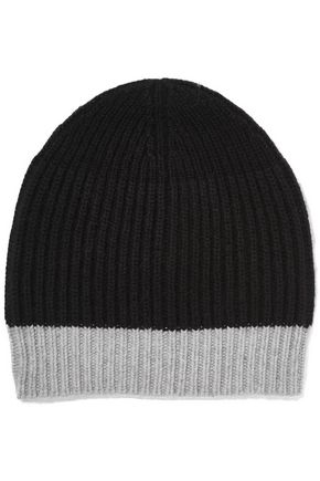 DUFFY Ribbed wool-blend beanie