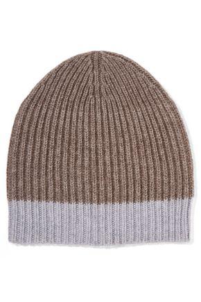 DUFFY Ribbed wool-blend beanie