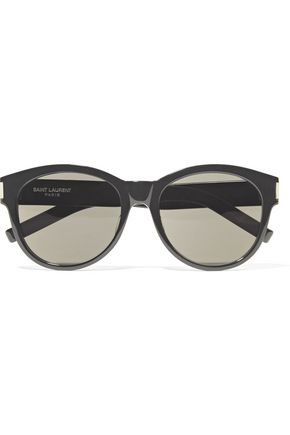 SAINT LAURENT SL 67 D-frame acetate sunglasses