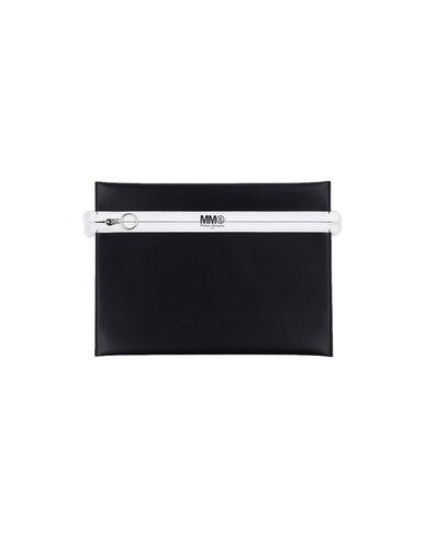 MM6 MAISON MARGIELA レディース ハンドバッグ ブラック ポリエーテル 100% / ポリウレタン