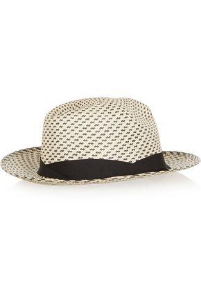 SENSI STUDIO New Erosion toquilla straw Panama hat