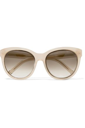 CHLOÉ Cat-eye acetate sunglasses