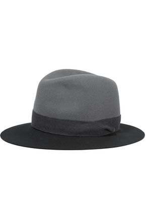 RAG & BONE Color-block wool-felt fedora