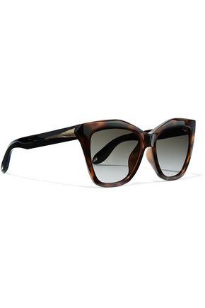 339deea90e8a5 ... GIVENCHY Cat-eye tortoiseshell acetate sunglasses ...