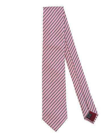 BALLANTYNE メンズ ネクタイ ピンク シルク 100%