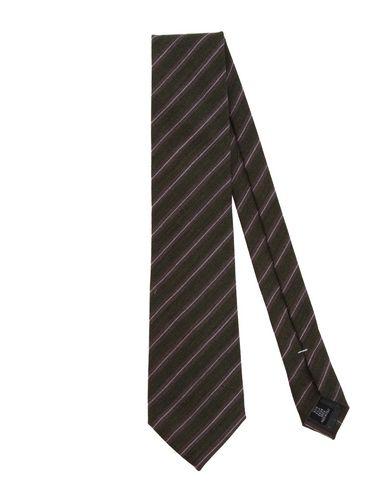 Cravatta Verde militare uomo GIANFRANCO FERRE' Cravatta uomo