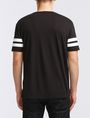ARMANI EXCHANGE VINTAGE 91 STRIPED CREW Logo T-shirt Man r